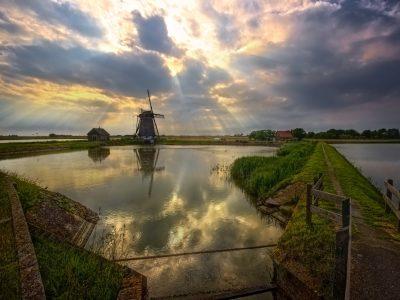 กังหันลม เนเธอร์แลนด์