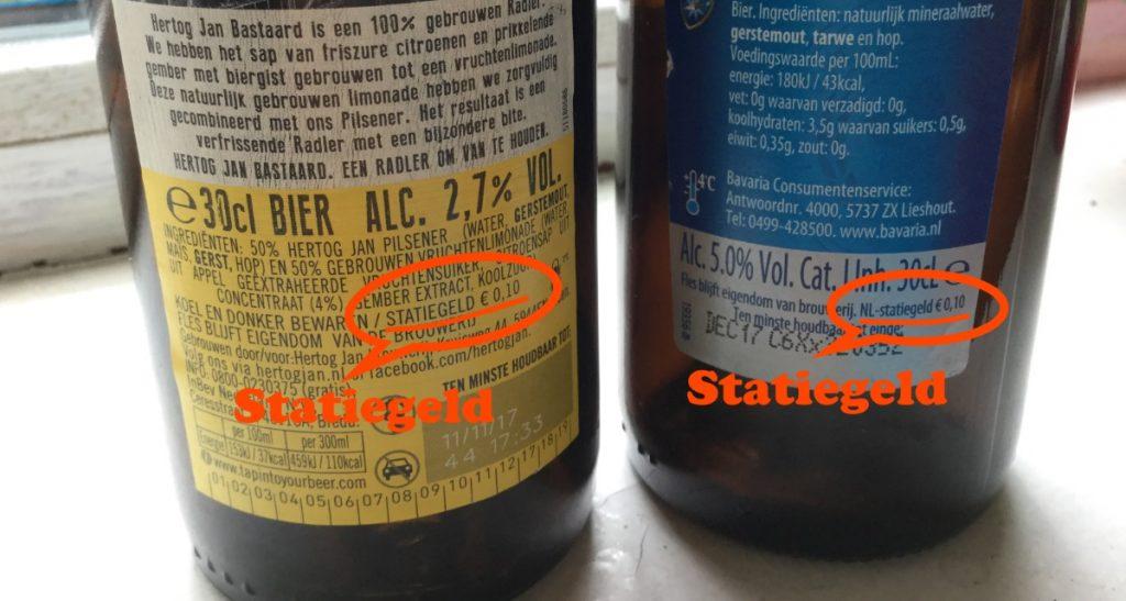 statiegeld bier